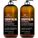 Top 6 Essential Oils Herbal Shampoo and...