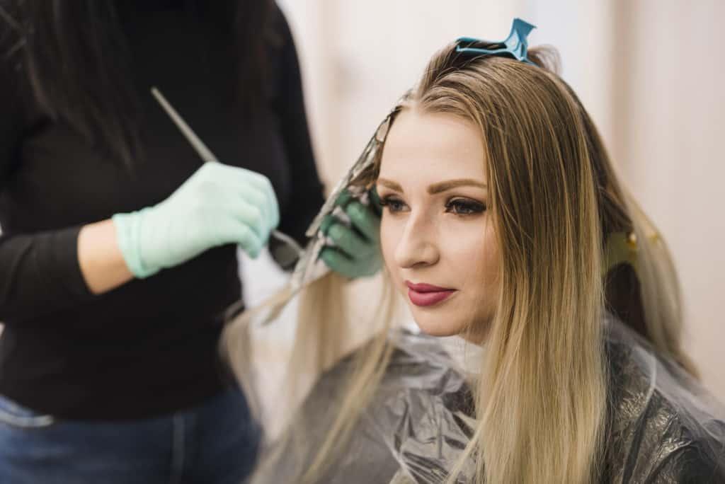 homemade hair mask for damaged hair and split ends