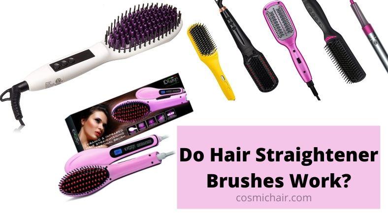 Do Hair Straightener Brushes Work?