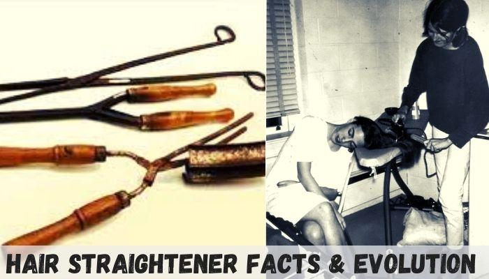 evolution of hair straightener