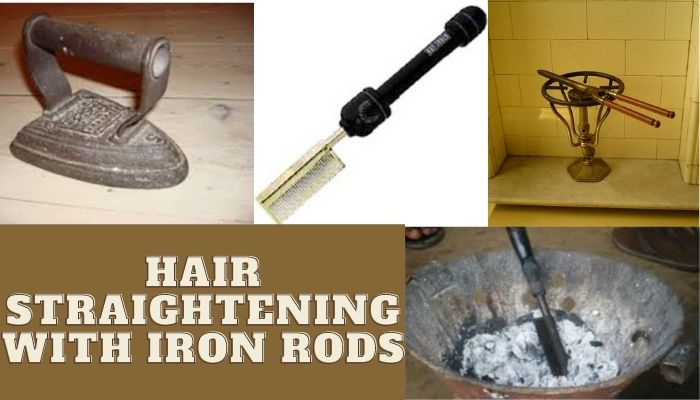Hair Straightening With Iron Rods 1872