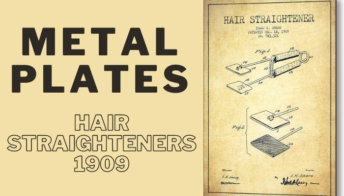 Hair Straighteners 1909
