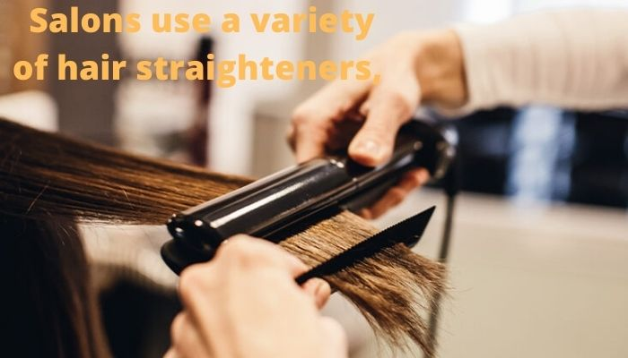 What are the best professional straighteners to use at salon