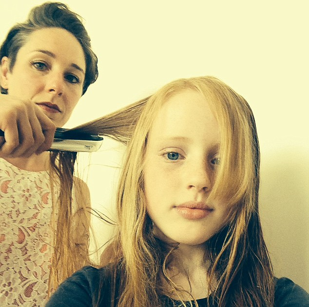Mum uses hair straighteners to kill her children's head lice and nits