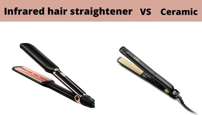 Infrared Hair Straightener VS Ceramic Flat Irons