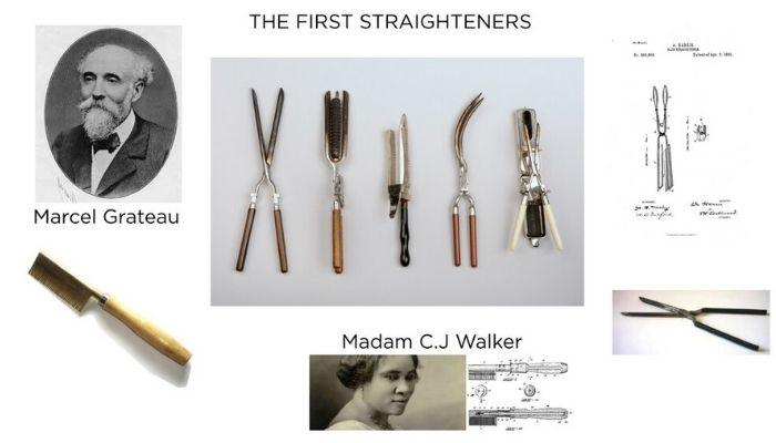 first invention of straightener